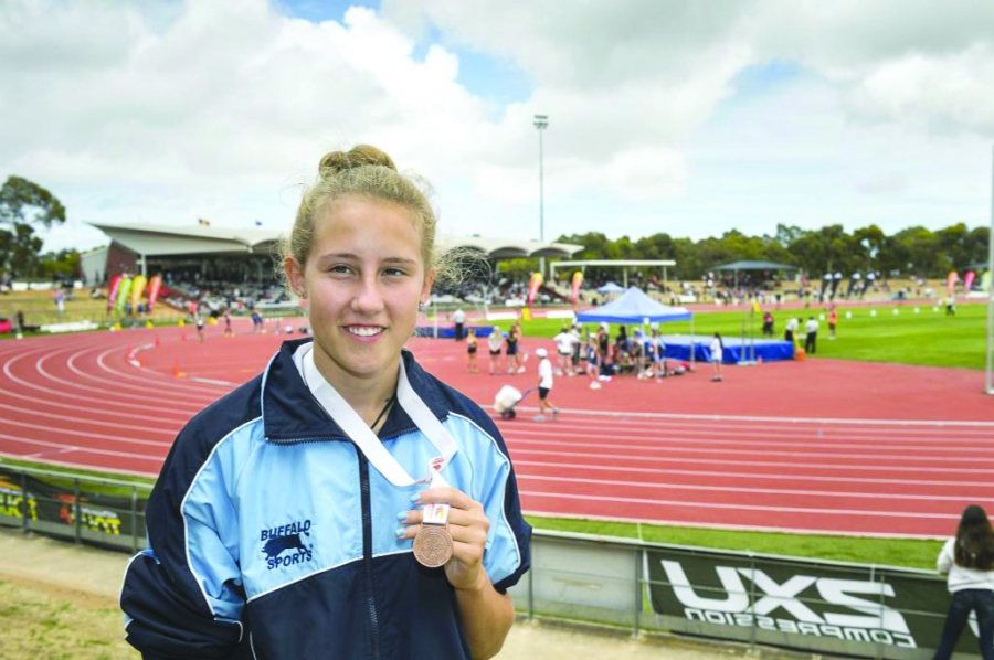 Bella Stewart in Adelaide Source:TheCourier.net.au
