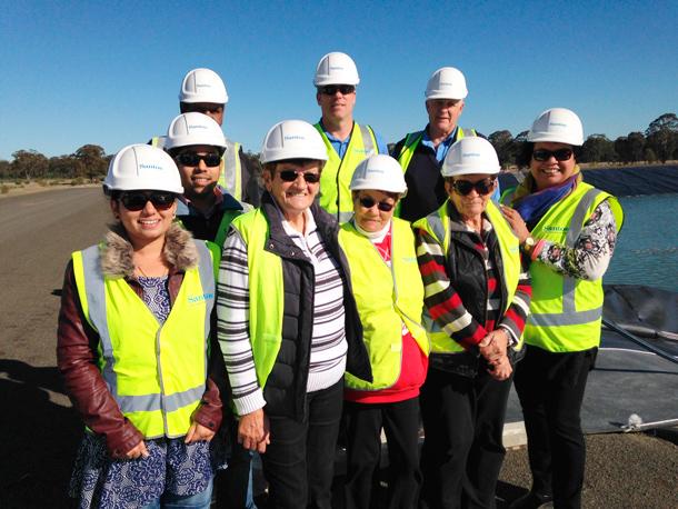 Narrabri Gas Project Santos hosts Aboriginal community